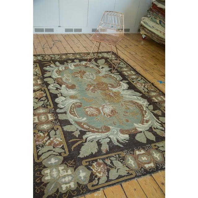 "Vintage Turkish Kilim Carpet - 6' x 8'9"" - Image 5 of 6"