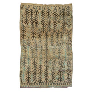 "20th Century Moroccan Berber Rug - 7' X 11'1"" For Sale"