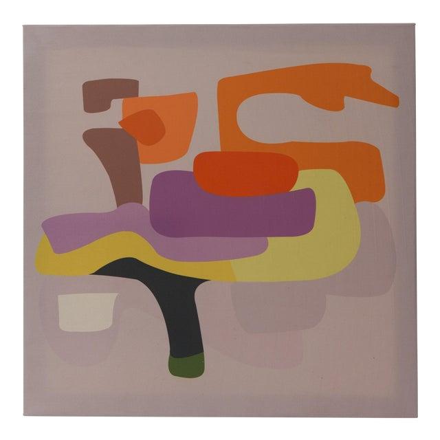 Travesiando Painting by Gabriela Valenzuela-Hirsch For Sale