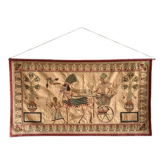 """French 19th Century """"Egyptomania"""" Wall Hanging Tapestry For Sale"""