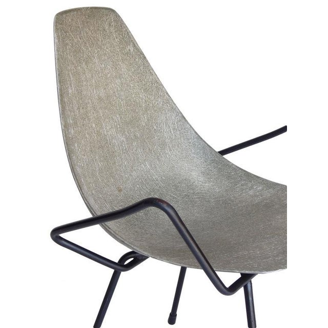 Unusual Sculptural Fiberglass Chair - Image 6 of 8