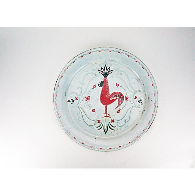 Vintage Metal Rooster Tray by Marcelline Stoyke - Image 2 of 5