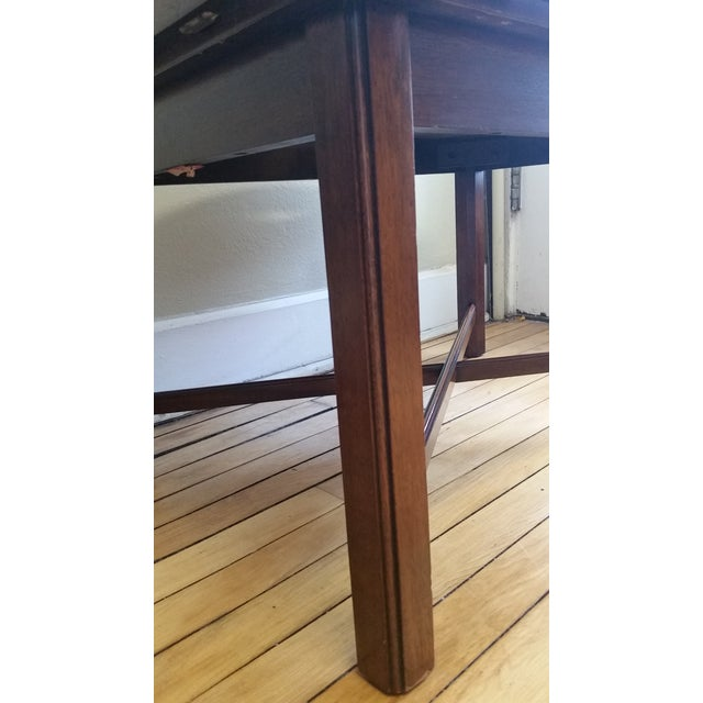 Vintage Mahogany Butler's Table - Image 4 of 10