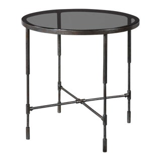 Industial Chic End Table For Sale
