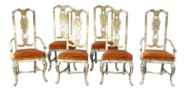 Image of Burnt Orange Dining Chairs