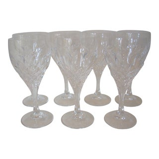 Peill & Putzler Crystal Wine Goblets - Set of 7 For Sale