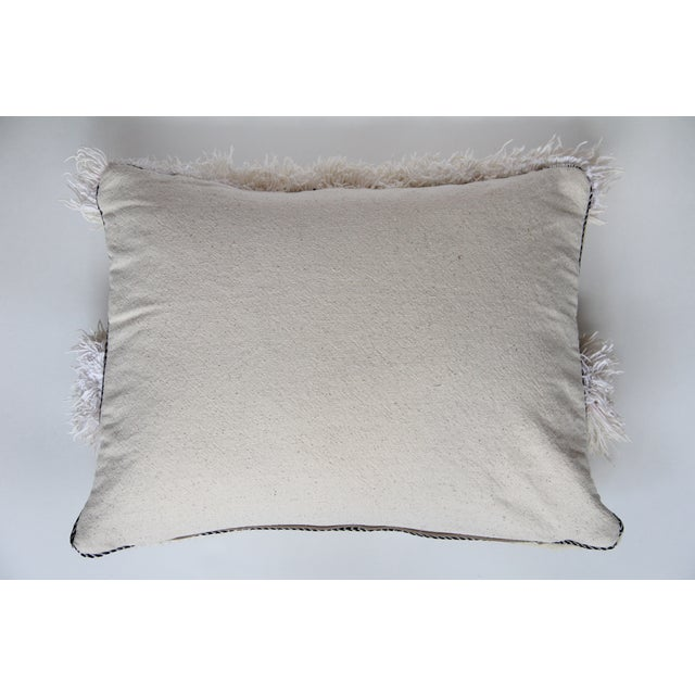 Vintage Moroccan Wedding Handira Pillow - Image 5 of 5