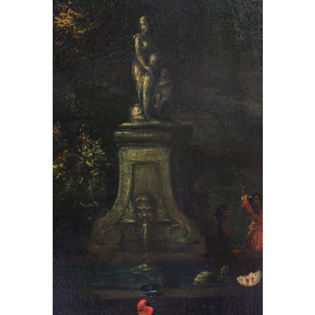 Mid 18th Century Flemish Oil on Canvas Capriccio by John Miel For Sale - Image 5 of 11