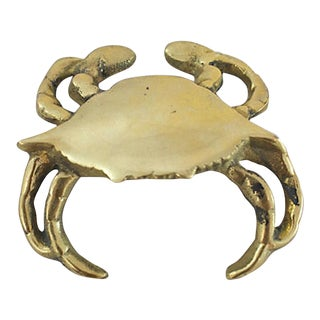 Brass Crab Bottle Opener For Sale