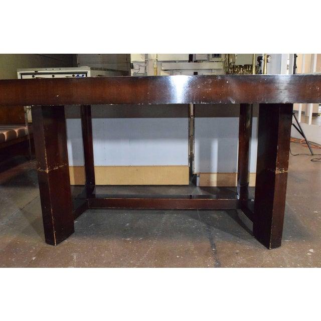 Widdicomb Robsjohn-Gibbings for Widdicomb Dining Table For Sale - Image 4 of 8