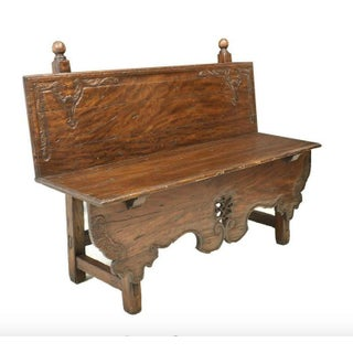 Alfonso Marina Tetecala Handcrafted Rustic Bench Preview