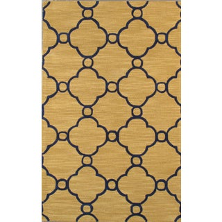 Pasargad Transitional Lamb's Wool Rug - 5' X 8' For Sale