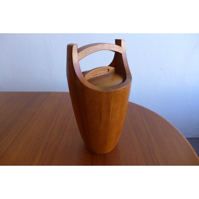 Danish Modern Jens Quistgaard Vintage Ice Bucket For Sale - Image 3 of 7