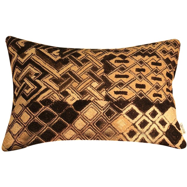Kuba Vintage Geo Pillow - Image 1 of 5
