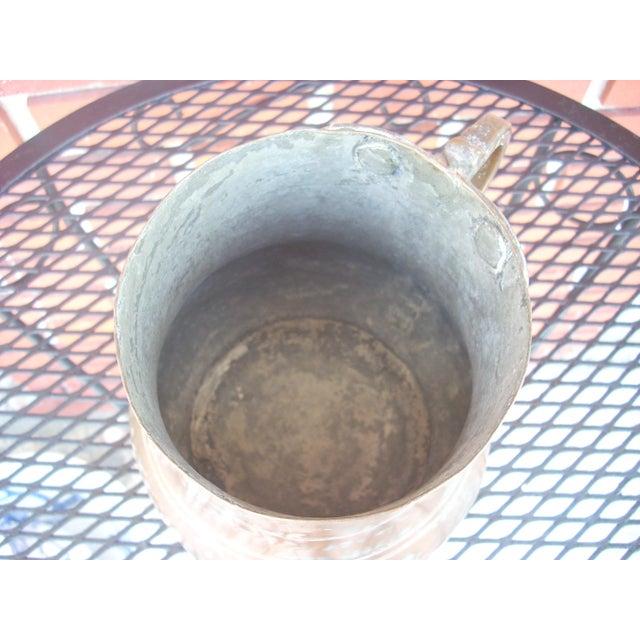 Vintage Copper Plated Jug - Image 4 of 4