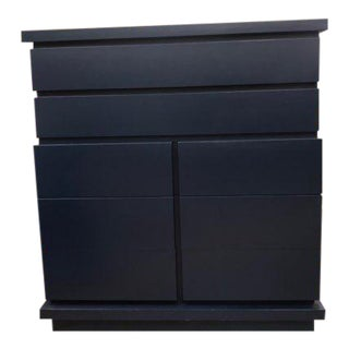 Sam Tall Navy Dresser For Sale