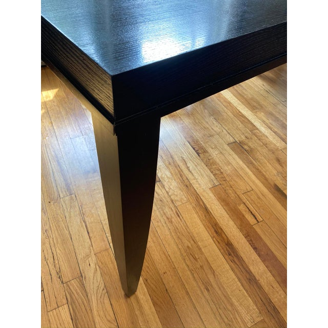 """Wood Crate and Barrel """"Portland"""" Dining Table For Sale - Image 7 of 8"""