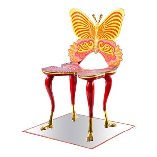 Sculptural Butterfly Chair by Pedro Friedeberg For Sale