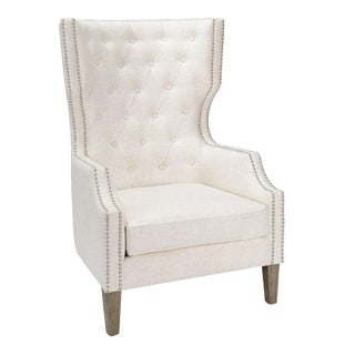 Kenneth Ludwig Alice Wing Chair For Sale