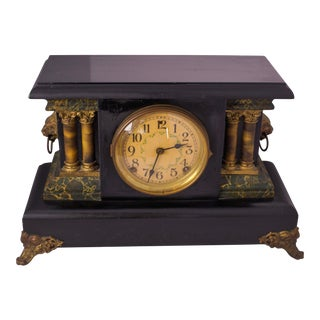 1920s Antique Mantel Clock For Sale