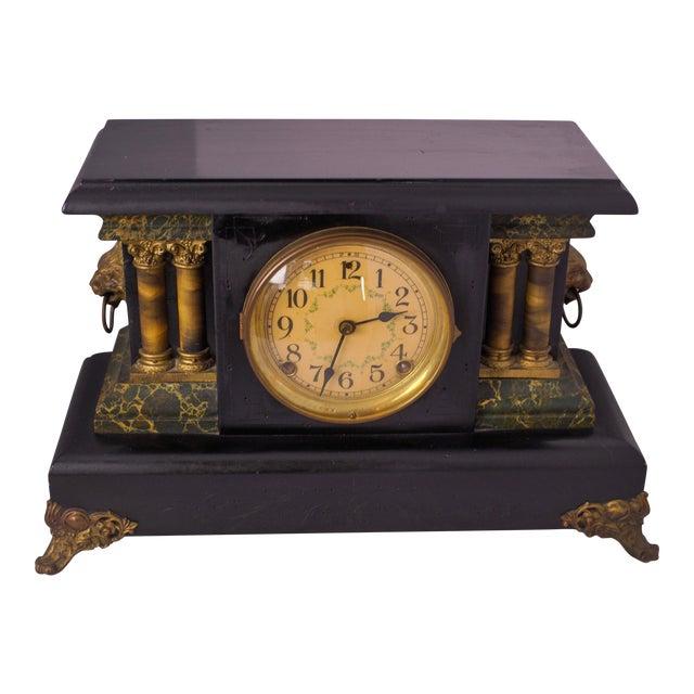 1920s Antique Mantel Clock For Sale