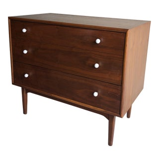 1960s Mid-Century Modern Kipp Stewart by Drexel Declaration Dresser With Vanity For Sale