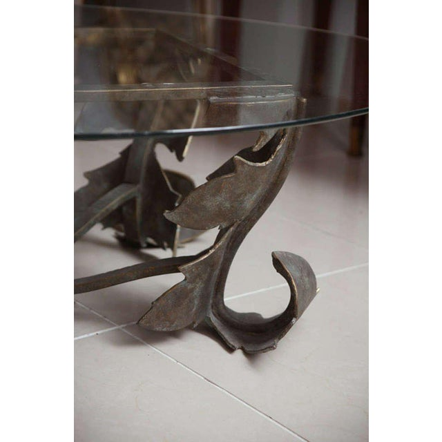 Hand-Forged Low Table For Sale - Image 9 of 10