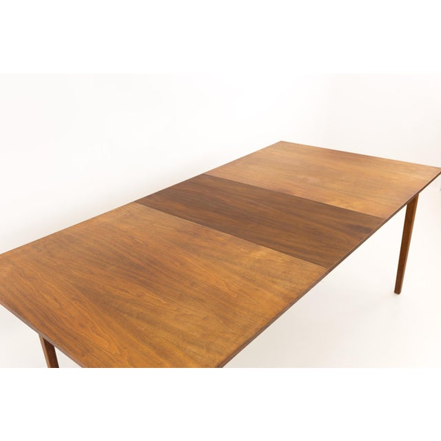 Wood Mid Century Modern Dillingham Espirit Dining Table For Sale - Image 7 of 13