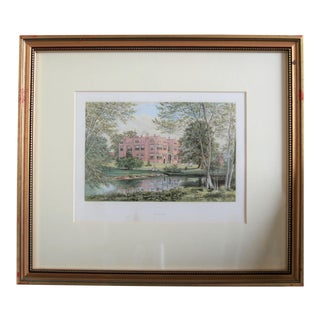 "1880 English Traditional Estate Print, ""Franks"" For Sale"