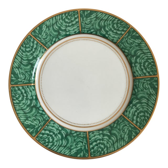Georges Briard Imperial Malachite Plate - Image 1 of 5