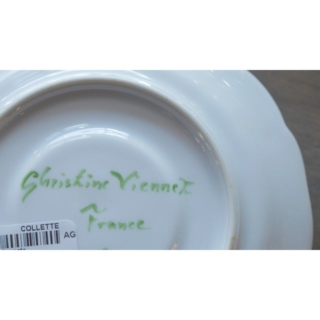 Christine Viennet Trompe l'Oeil Snail Plate For Sale In New York - Image 6 of 7