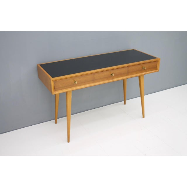 1950s Console Table Vanity by Helmut Magg, Germany, 1950s For Sale - Image 5 of 13