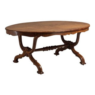 Irish Centre Table Veneered in Oak Circa 1835 For Sale