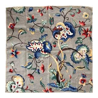 """Saint Albans II"" Twigs Linen Fabric For Sale"