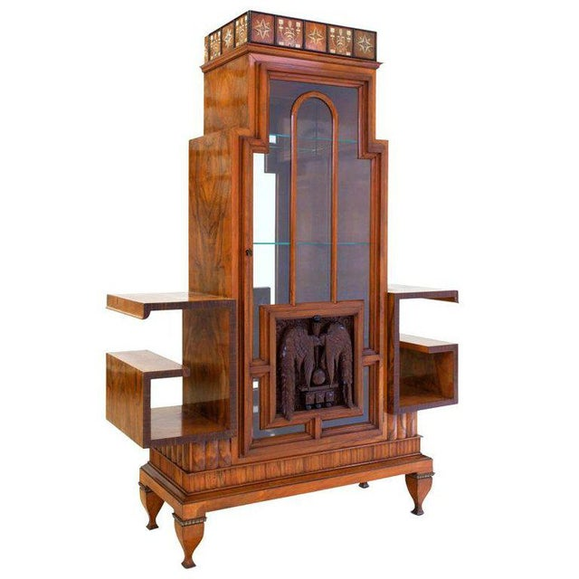 Osvaldo Borsani Art Deco Vitrine For Sale - Image 13 of 13