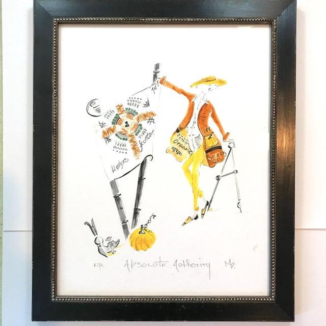 Les Gardiens Du Jardin Signed Print For Sale In New York - Image 6 of 6