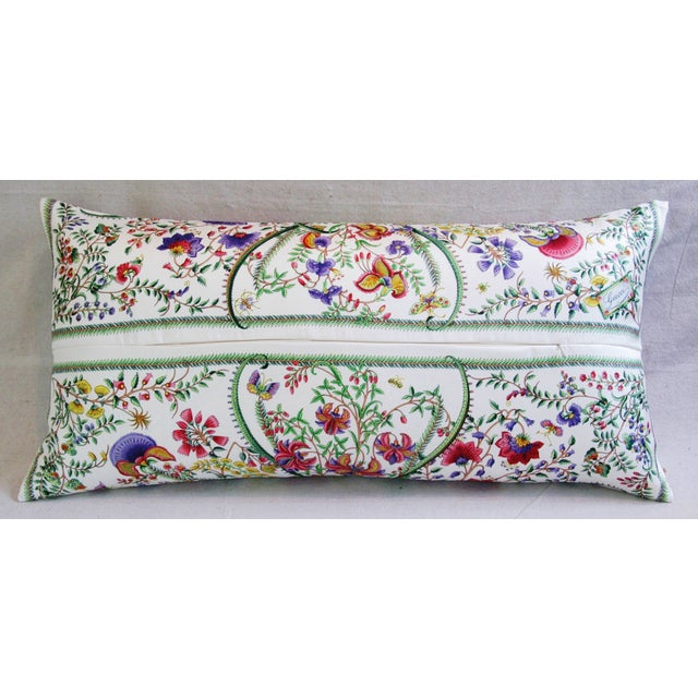 Designer Italian Gucci Floral Fanni Silk Pillow For Sale In Los Angeles - Image 6 of 11