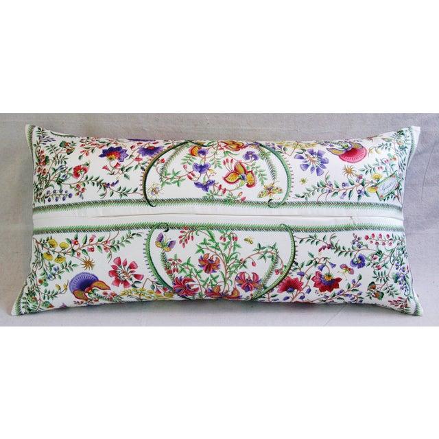 Designer Italian Gucci Floral Fanni Silk Pillow - Image 6 of 11