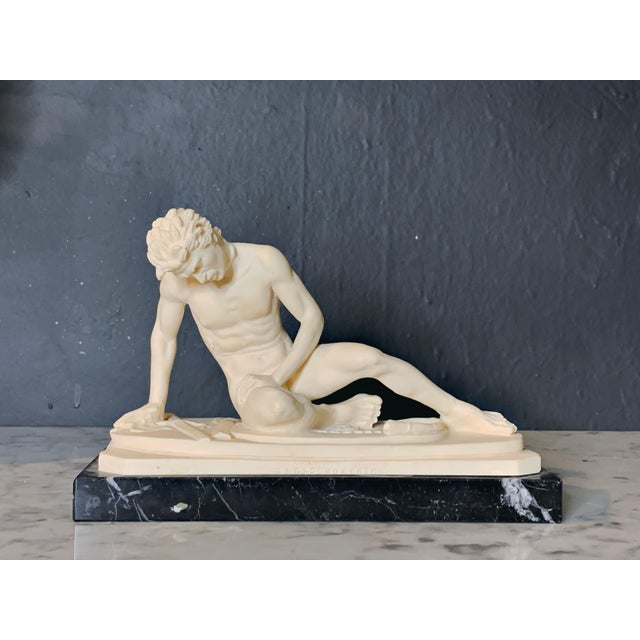 The Dying Gaul Grand Tour Style Figurine For Sale - Image 9 of 9