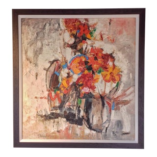 Leslie Sherman Still Life Painting For Sale
