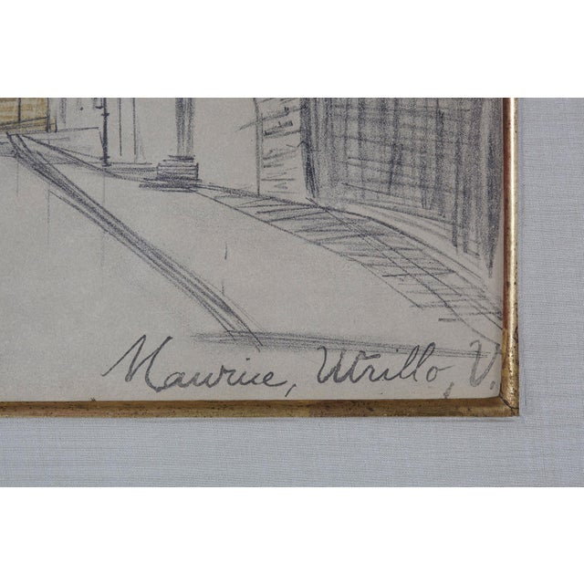 Maurice Utrillo La Place Ravignan For Sale In New York - Image 6 of 9