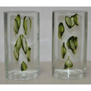 Antonio Da Ros Hand Made Glass Sculptural Bookends C.1960 Preview