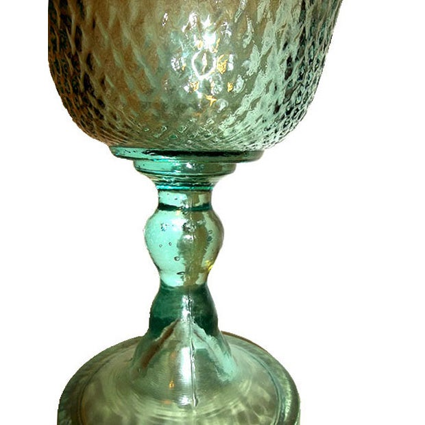 Pressed Glass Pedestal Bowl - Image 4 of 5