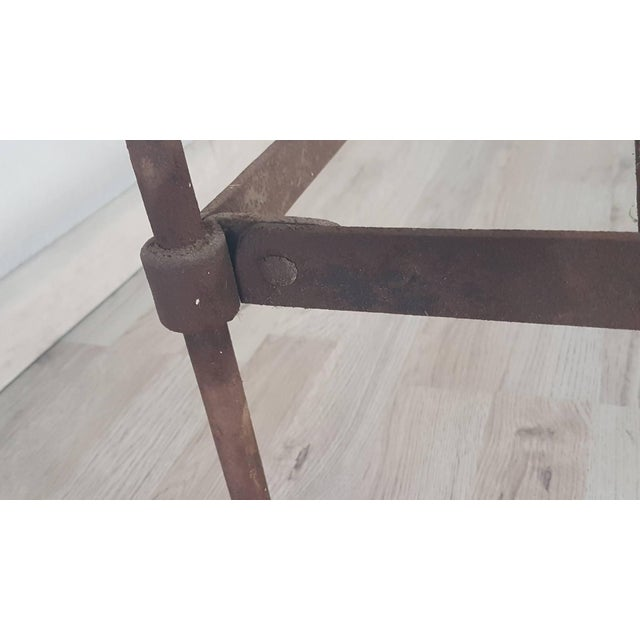 19th Century Empire Iron Single Bed For Sale - Image 10 of 13