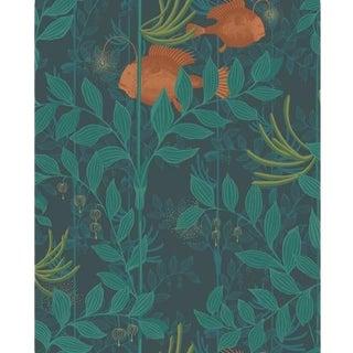 Cole & Son Nautilus Wallpaper Roll - Dark Green For Sale