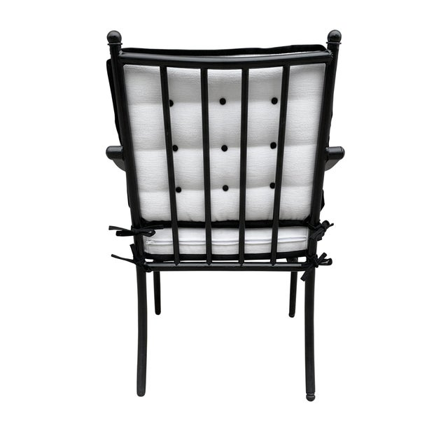 Mid 20th Century Set of Four Mid-20th Century American Iron Patio Chairs For Sale - Image 5 of 13