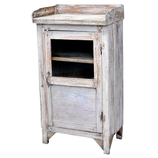 Distressed White-Painted Cabinet - Image 2 of 2