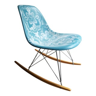 Reimagined Vintage Eames Rocking Chair for Herman Miller For Sale