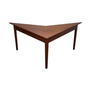 Mid Century Modern Studio Made Triangle Low Table For Sale