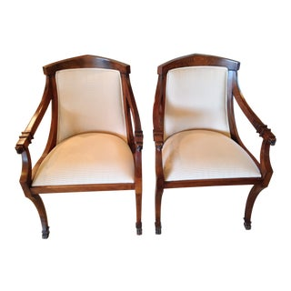 Pair of Ethan Allen Side Chairs For Sale